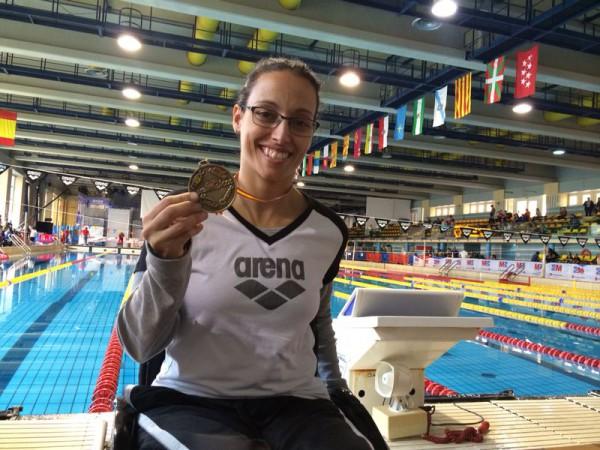 Teresa Perales Campeonato España Natación Adaptada 2014