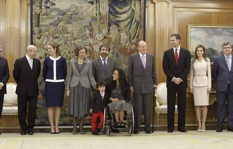 Entrega Gran Cruz Real Orden al Mérito Deportivo, Teresa Perales. Foto: EFE