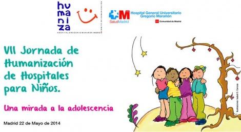Teresa Perales participa en el acto. El Gregorio Marañón celebra la VII Jornada de Humanización de Hospitales para Niños