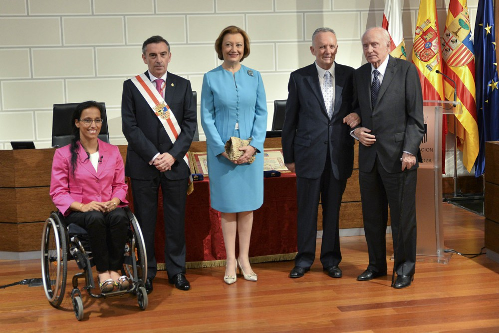 Medalla Santa Isabel de Portugal. DPZ