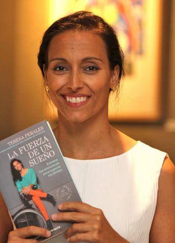 Teresa Perales, un ejemplo como deportista y ahora también como escritora· RAFA HERRERO/GENTE