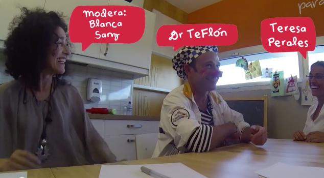Felices por narices. Teresa Perales y el Dr. Teflón. Fundación Theodora