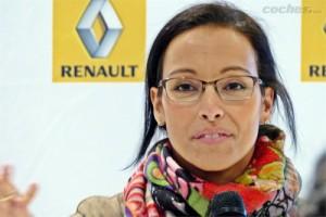Renault y Teresa Perales