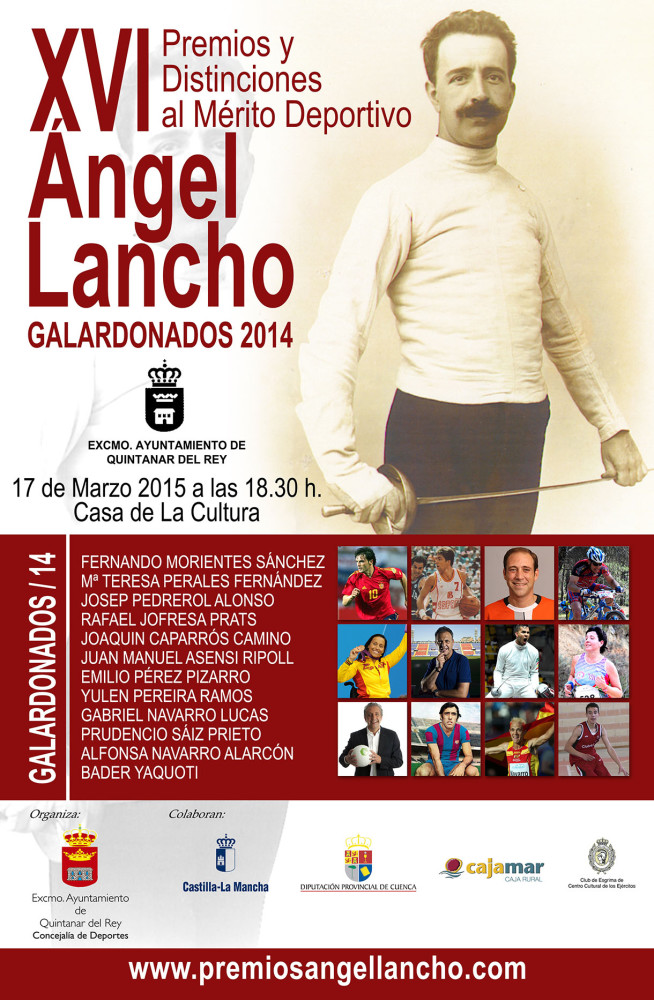 CARTEL ANGEL LANCHO 2015